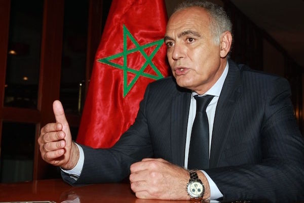 Foreign Minister Salaheddine Mezouar