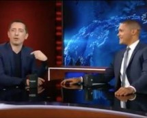 Gad El Maleh Speaks About His Move to New York on the Daily Show