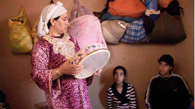 Lala Aisha and her kids