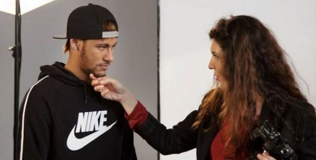 Leila Alaoui and Neymar