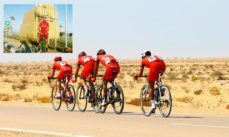 Moroccan cyclists