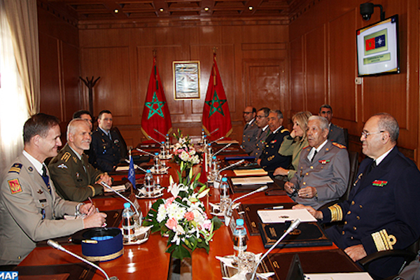 Morocco's High-ranking Officer Receives Chairman of NATO Military Committee