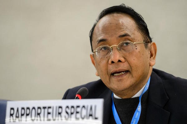 The UN special rapporteur on human rights in the occupied Palestinian territories, Makarim Wibisono