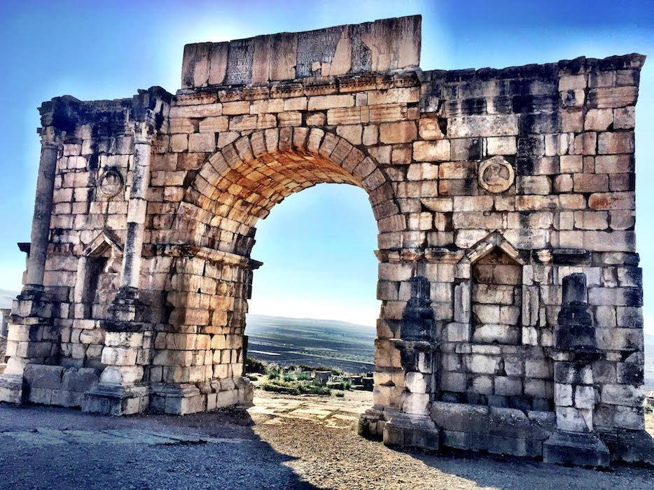 Triumphant gate of Caracalla