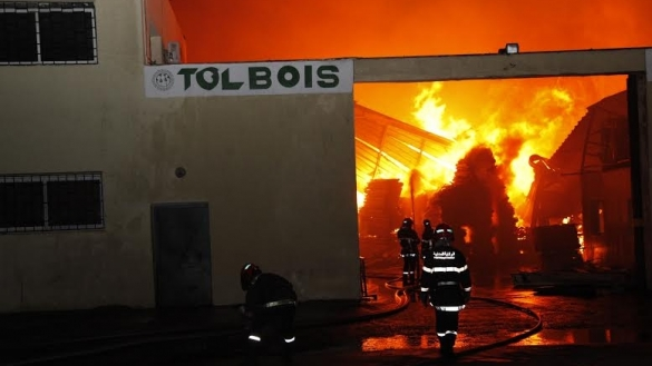 casablanca factory on fire 1