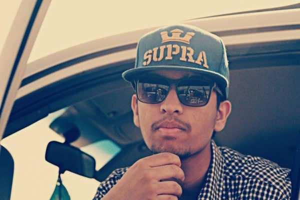 Ahmed Salah Zarug, a Moroccan rapper