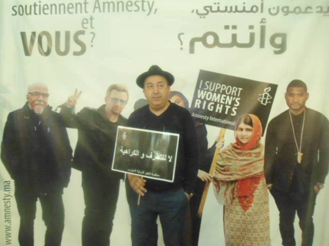 Amnesty International-Morocco Calls for Cultural Front against Terrorism,,,,