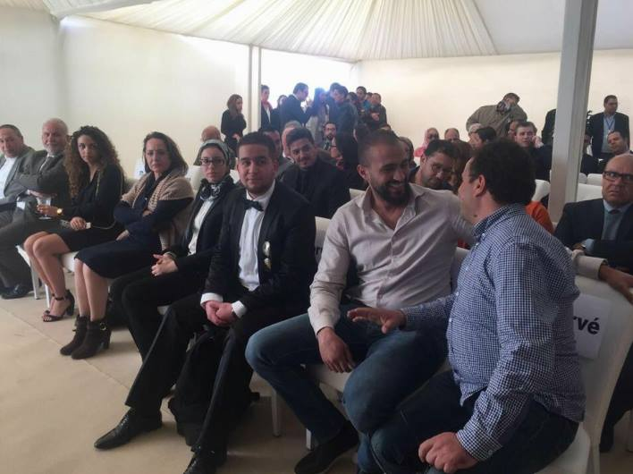 Badr Hari at Darlodo Inauguration in Marrakech