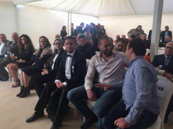 Badr Hari at Darlodo Inauguration in Marrakech