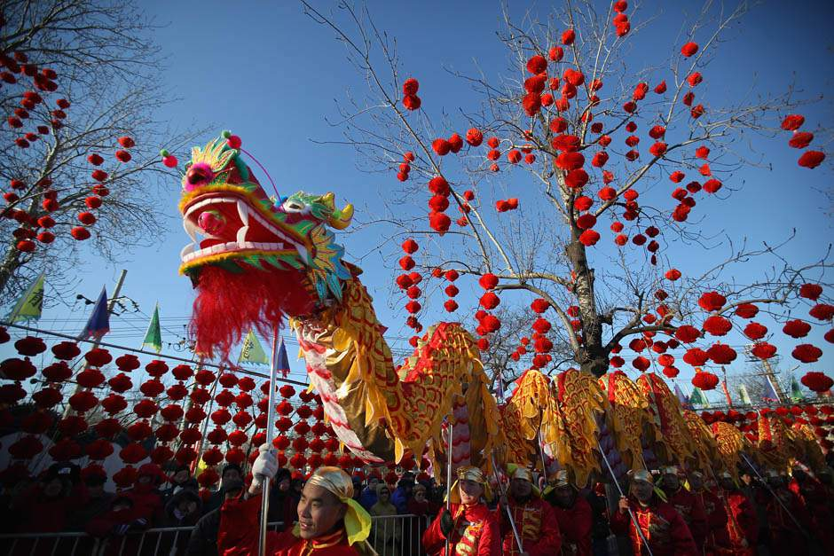 Chinese Celebrate New Year