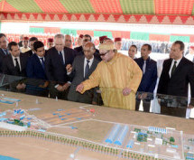 King Mohammed VI Launches Construction Works of Fertilizer Production Plant in Laayoune