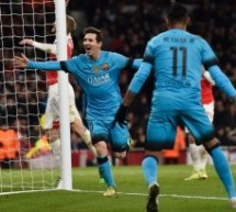 Lionel Messi's Goal vs Arsenal