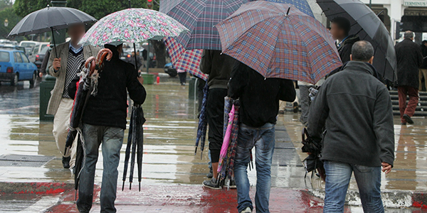 Today's Forcast: More Cold Rain, Light Snow in Morocco