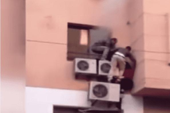 Moroccans Escape Fire in Marrakech