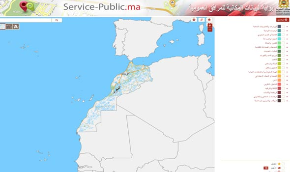 Morocco Launches Website, Apps to Map Location of Government Services