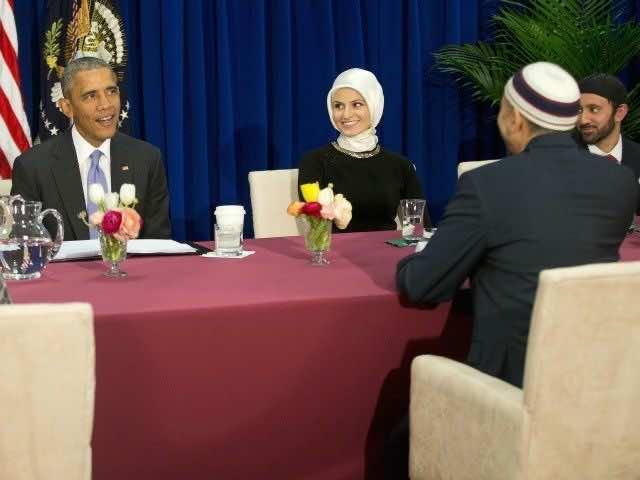 Obama's mosque visit