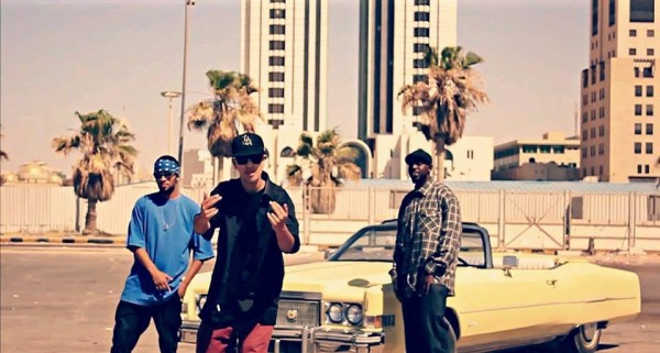 Rapper Rhymes in English to Represent Moroccan Hip-hop Music Throughout the World