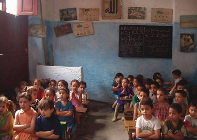 Reflections on the Moroccan Educational System. Moroccan students