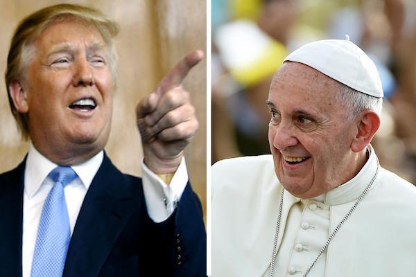 The Christian Feuds Are on- Pope Francis vs. Donald Trump