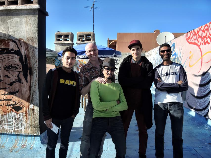 The collective with Mike Richardson Cafe Clock owner