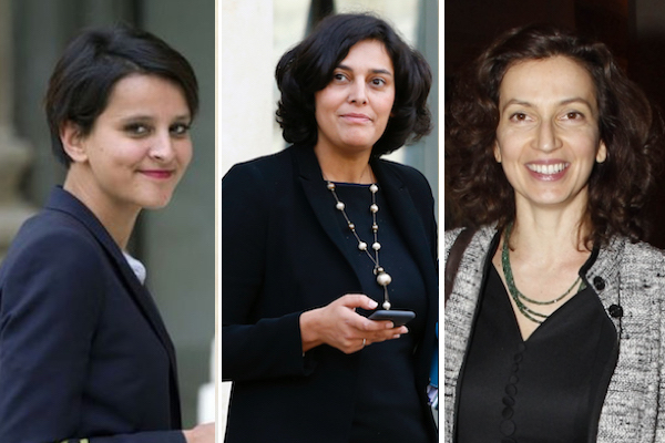 Three Moroccan Natives in the French Government
