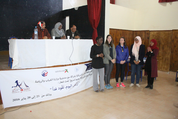 Two American Students Hold Running camp for Female Empowerment in Ouarzazate