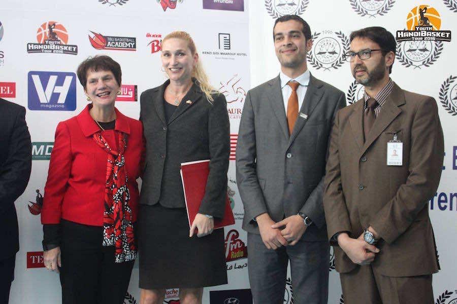US Embassy in Rabat, TIBU Maroc launches Its Wheelchair Basketball Tour
