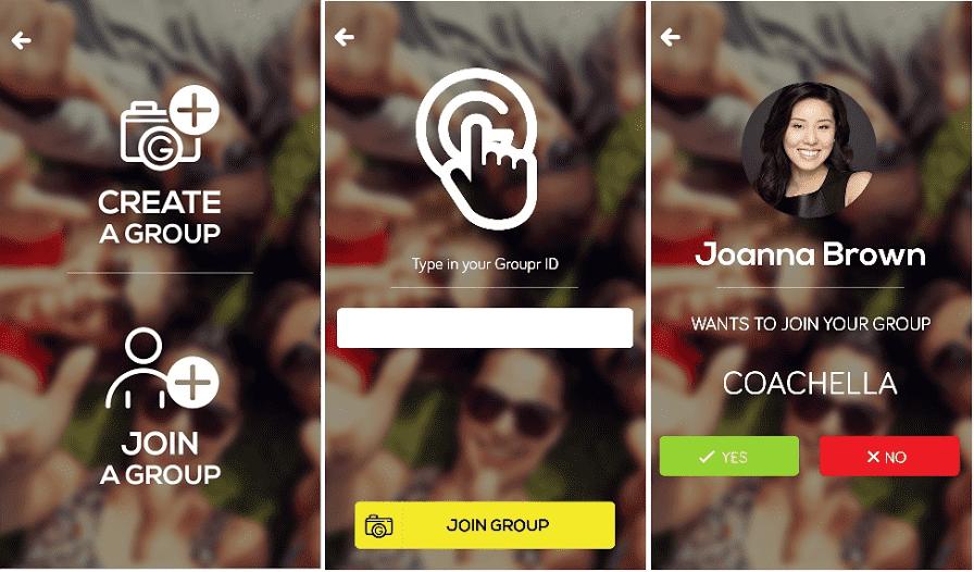 a social photo sharing application 2