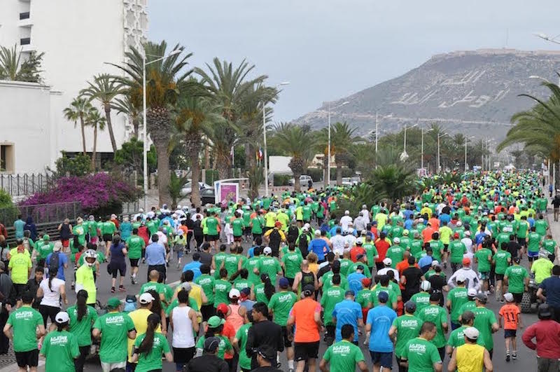 Agadir to host record 10,000 runners during 4th annual Green Marathon in April