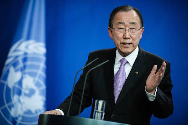 Ban Ki-moon, United Nations Secretary General