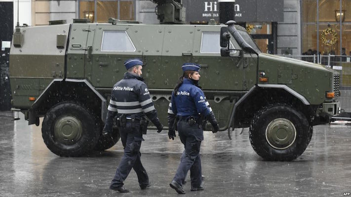 Brussels Under Highest Security Alert Amid Fears Of 'Paris-Like' Attack