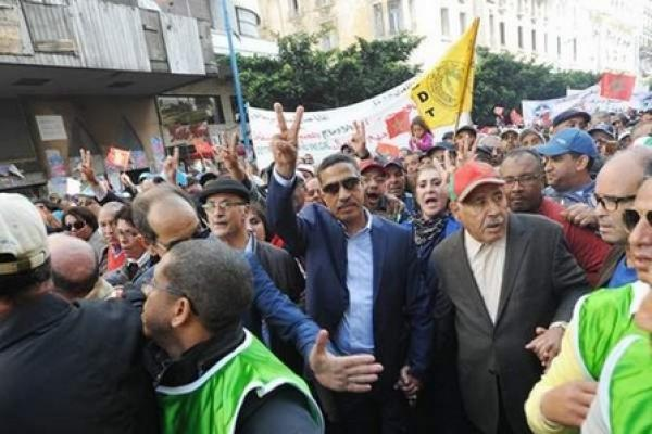 Labor Union Plans General Strike Across Morocco for Wednesday