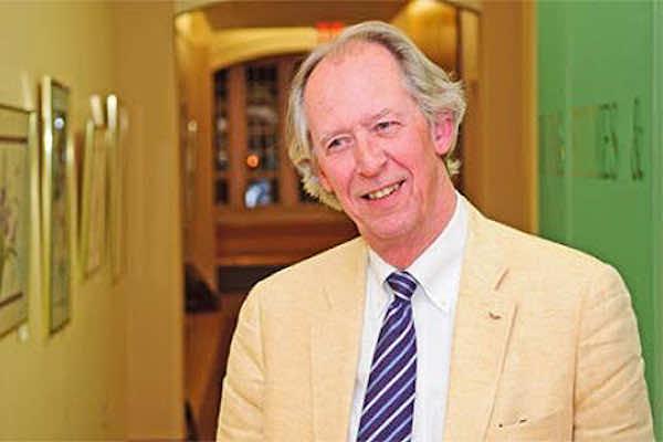 Former US diplomat Robert Holley