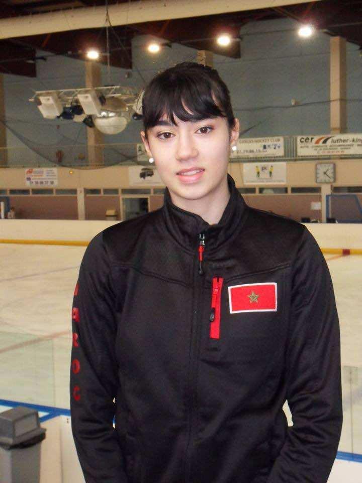 Karen Ghebbari: Franco-Moroccan Figure Skater, Proud to Play for Morocco