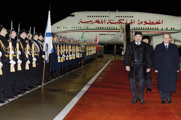 King Mohammed VI's visit to Russia