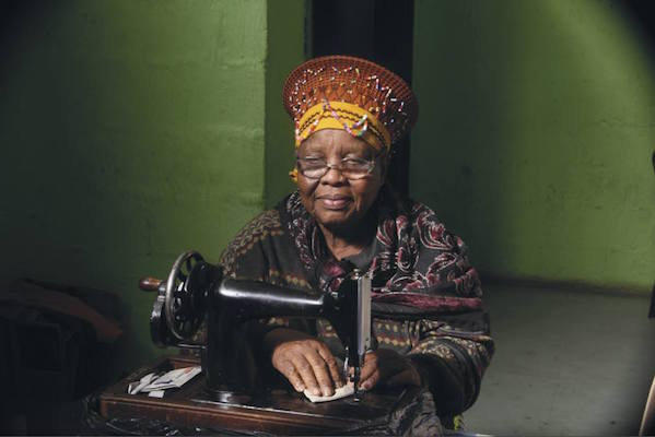 Mama u Mtalane, 93, from Umgababa, Kwa Zulu Natal, South Africa. © Muthande Society for the Aged