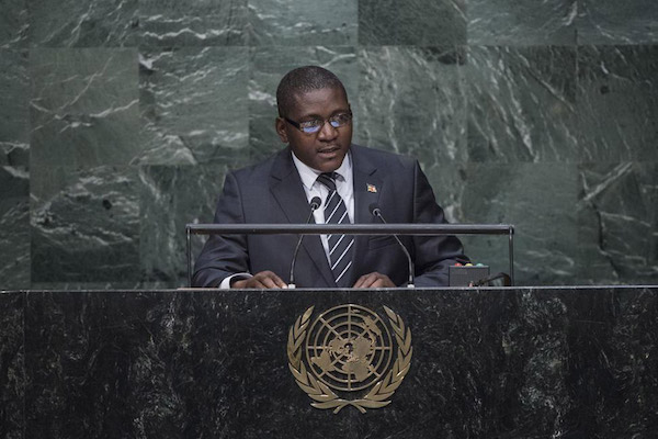 Minister of Foreign Affairs, African integration and Francophonie of the Central African Republic Samuel Rangba