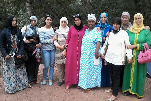 Moroccan women in Marrakech