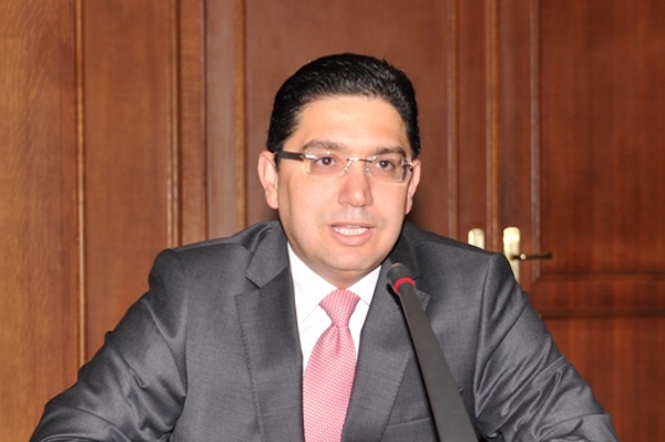 Nasser Bourita, Minister Delegate for Foreign Affairs.
