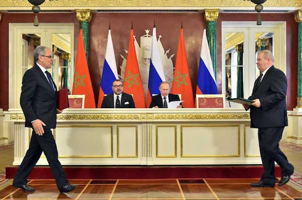 Russia Supports Morocco's Position on the Western Sahara