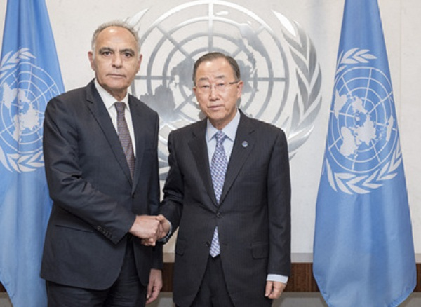 Secretary-General Meets Moroccan Foreign Minister