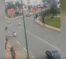 Video: Man Intercepts Procession of King Mohammed VI in Rabat