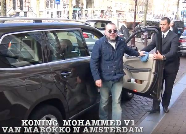 Video: King Mohammed VI in Amsterdam