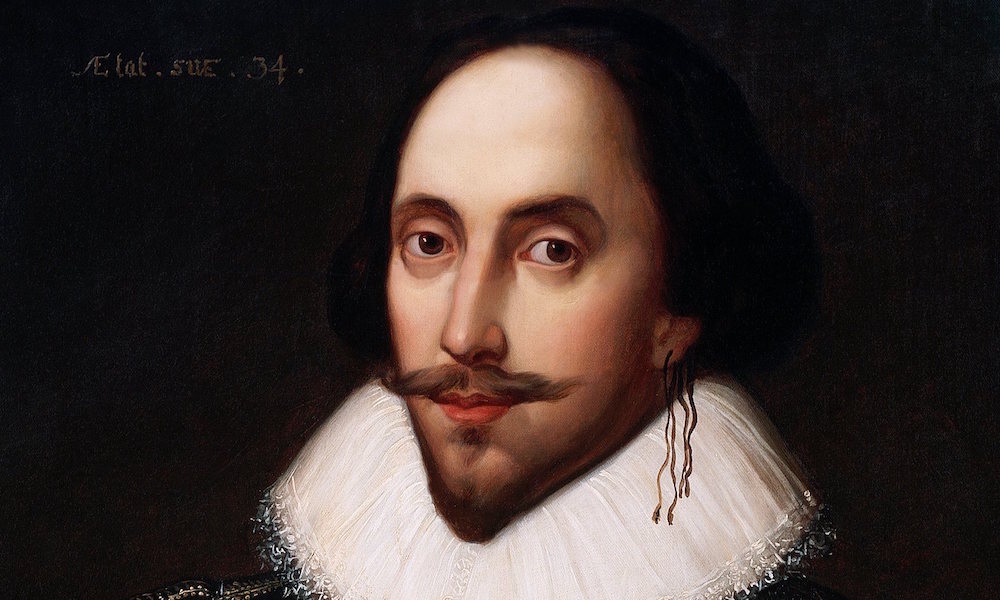 William Shakespeare, poet and playwright (1564-1616)