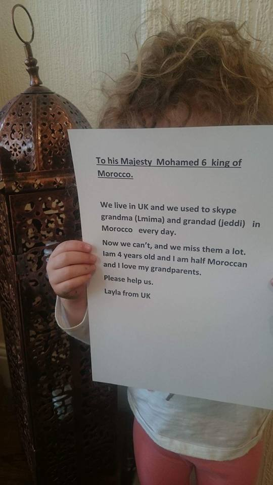 British-Moroccan 4-year-old Asks King Mohammed VI to Lift Ban on VoIP Services