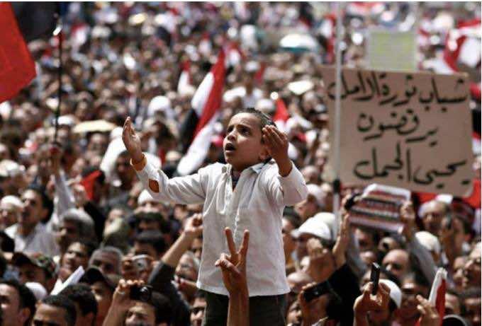 Arab millennials fighting for democracy in 2011