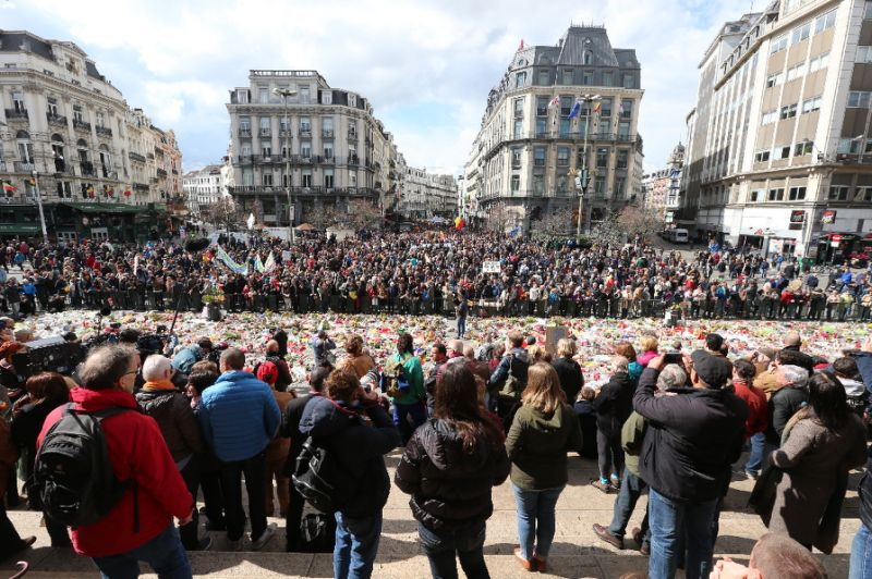 Thousands take part in Brussels rally against jihadist violence