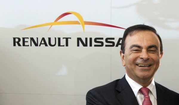 CEO of Renault-Nissan Group, Carlos Ghosn