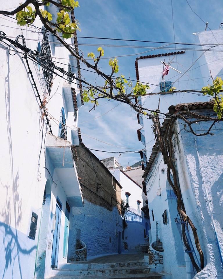 Chefchaouen; an enchanting blue-washed city