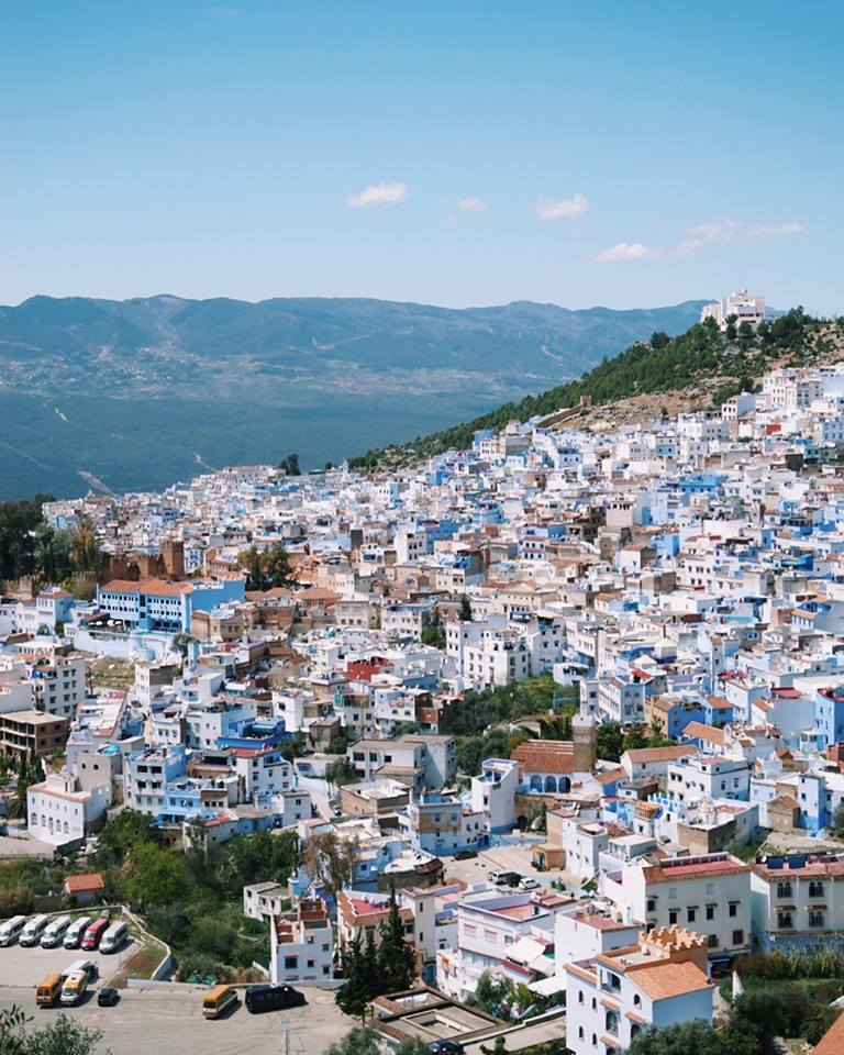 Chefchaouen, an enchanting blue-washed city